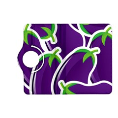 Vegetable Eggplant Purple Green Kindle Fire Hd (2013) Flip 360 Case by Mariart
