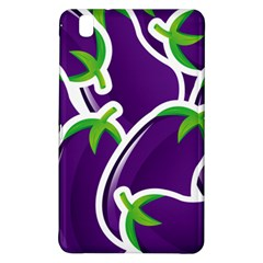Vegetable Eggplant Purple Green Samsung Galaxy Tab Pro 8 4 Hardshell Case by Mariart