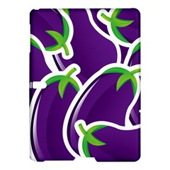 Vegetable Eggplant Purple Green Samsung Galaxy Tab S (10 5 ) Hardshell Case  by Mariart