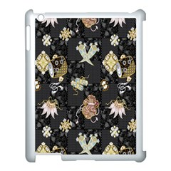 Traditional Music Drum Batik Apple Ipad 3/4 Case (white) by Mariart
