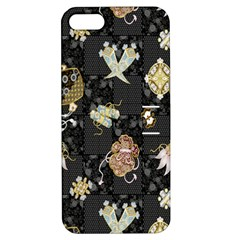 Traditional Music Drum Batik Apple Iphone 5 Hardshell Case With Stand by Mariart