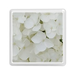 Hydrangea Flowers Blossom White Floral Photography Elegant Bridal Chic  Memory Card Reader (square)  by yoursparklingshop