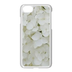 Hydrangea Flowers Blossom White Floral Photography Elegant Bridal Chic  Apple Iphone 7 Seamless Case (white) by yoursparklingshop