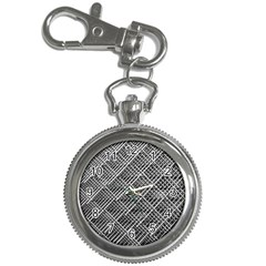 Pattern Metal Pipes Grid Key Chain Watches by Nexatart