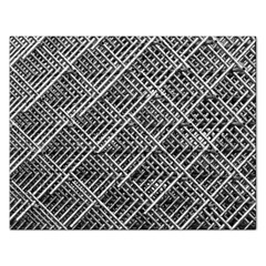 Pattern Metal Pipes Grid Rectangular Jigsaw Puzzl