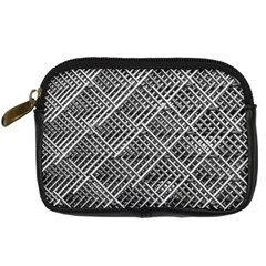 Pattern Metal Pipes Grid Digital Camera Cases by Nexatart