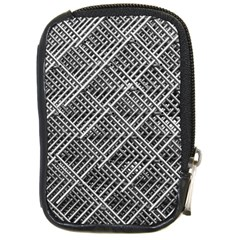Pattern Metal Pipes Grid Compact Camera Cases