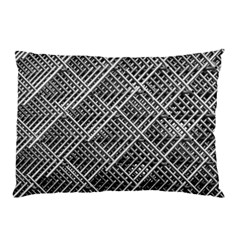 Pattern Metal Pipes Grid Pillow Case (two Sides) by Nexatart