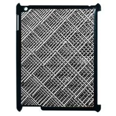 Pattern Metal Pipes Grid Apple Ipad 2 Case (black)