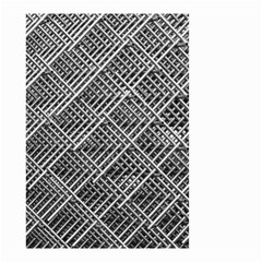 Pattern Metal Pipes Grid Small Garden Flag (two Sides) by Nexatart
