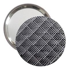 Pattern Metal Pipes Grid 3  Handbag Mirrors by Nexatart