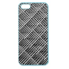 Pattern Metal Pipes Grid Apple Seamless Iphone 5 Case (color)