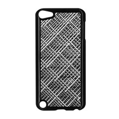 Pattern Metal Pipes Grid Apple Ipod Touch 5 Case (black)
