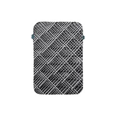 Pattern Metal Pipes Grid Apple Ipad Mini Protective Soft Cases by Nexatart