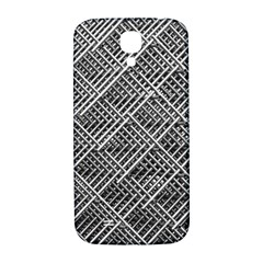 Pattern Metal Pipes Grid Samsung Galaxy S4 I9500/i9505  Hardshell Back Case
