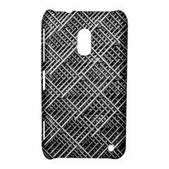 Pattern Metal Pipes Grid Nokia Lumia 620