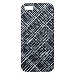 Pattern Metal Pipes Grid Iphone 5s/ Se Premium Hardshell Case by Nexatart