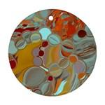 Liquid Bubbles Ornament (Round)
