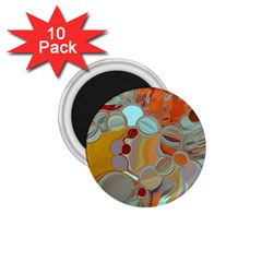 Liquid Bubbles 1.75  Magnets (10 pack)