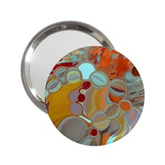 Liquid Bubbles 2 25  Handbag Mirrors by theunrulyartist