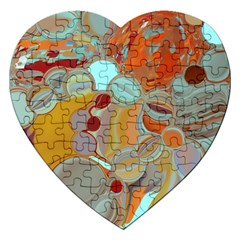 Liquid Bubbles Jigsaw Puzzle (Heart)
