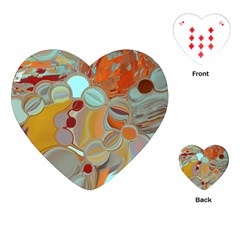 Liquid Bubbles Playing Cards (Heart)