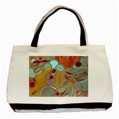 Liquid Bubbles Basic Tote Bag by theunrulyartist