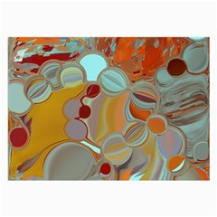 Liquid Bubbles Large Glasses Cloth (2 Side) by theunrulyartist