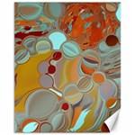 Liquid Bubbles Canvas 11  x 14