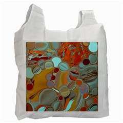 Liquid Bubbles Recycle Bag (one Side) by theunrulyartist