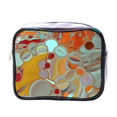 Liquid Bubbles Mini Toiletries Bags