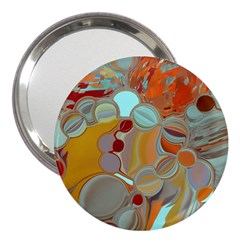 Liquid Bubbles 3  Handbag Mirrors by theunrulyartist