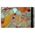Liquid Bubbles Apple iPad 2 Flip Case