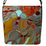 Liquid Bubbles Flap Messenger Bag (S)