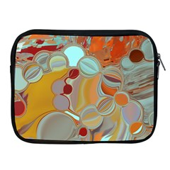 Liquid Bubbles Apple Ipad 2/3/4 Zipper Cases by digitaldivadesigns