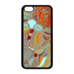 Liquid Bubbles Apple iPhone 5C Seamless Case (Black)