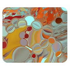 Liquid Bubbles Double Sided Flano Blanket (Small)