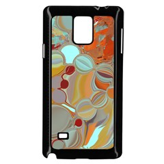 Liquid Bubbles Samsung Galaxy Note 4 Case (black) by theunrulyartist