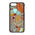 Liquid Bubbles Apple iPhone 7 Plus Seamless Case (Black)