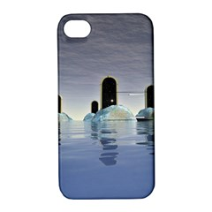 Abstract Gates Doors Stars Apple Iphone 4/4s Hardshell Case With Stand by Nexatart