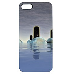 Abstract Gates Doors Stars Apple Iphone 5 Hardshell Case With Stand by Nexatart