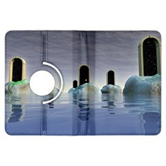 Abstract Gates Doors Stars Kindle Fire Hdx Flip 360 Case by Nexatart