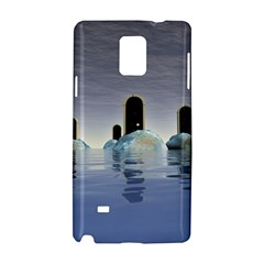 Abstract Gates Doors Stars Samsung Galaxy Note 4 Hardshell Case by Nexatart