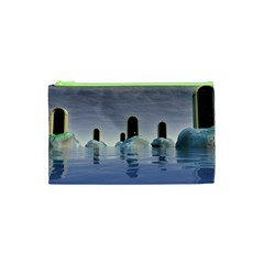 Abstract Gates Doors Stars Cosmetic Bag (xs)