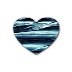 Texture Fractal Frax Hd Mathematics Heart Coaster (4 Pack)