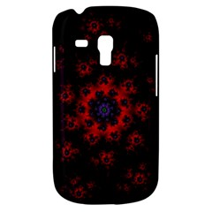 Fractal Abstract Blossom Bloom Red Galaxy S3 Mini