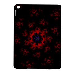 Fractal Abstract Blossom Bloom Red Ipad Air 2 Hardshell Cases by Nexatart