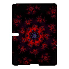 Fractal Abstract Blossom Bloom Red Samsung Galaxy Tab S (10 5 ) Hardshell Case  by Nexatart