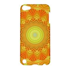 Sunshine Sunny Sun Abstract Yellow Apple Ipod Touch 5 Hardshell Case by Nexatart