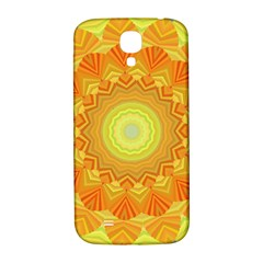 Sunshine Sunny Sun Abstract Yellow Samsung Galaxy S4 I9500/i9505  Hardshell Back Case by Nexatart